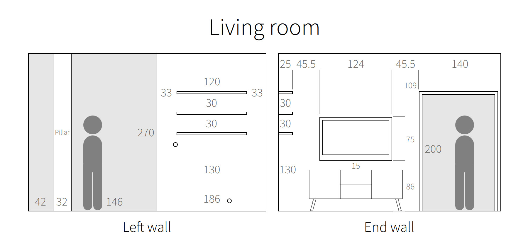Renovation planning with qt quick living room blueprint left right malvernweather Choice Image